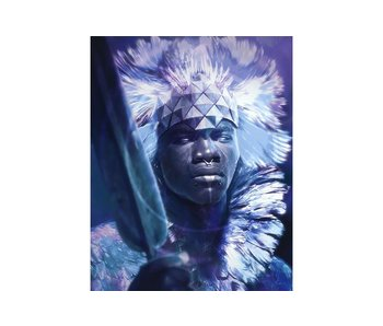 Dia paint WD144 - King of Afrika 38x48 cm