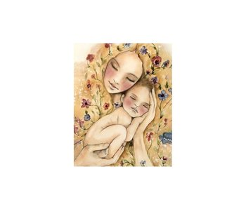 Dia paint WD2317 - Mothers Warmth 38x48 cm