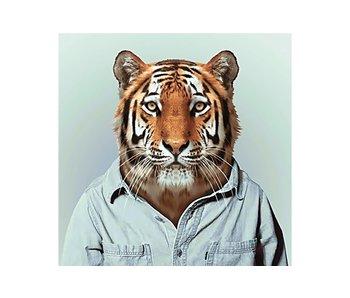 Dia paint WD258 - Mr Tiger 38x38 cm