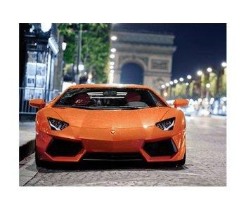 Dia paint WD255 - Sport car 48x38 cm