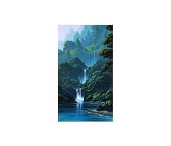 Dia paint WD314 - Mountain Waterfall  40x70cm