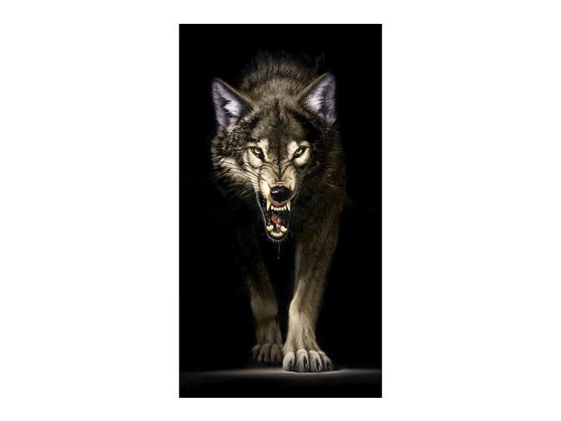 Dia paint WD2410 - Stalking Wolf 38x70cm