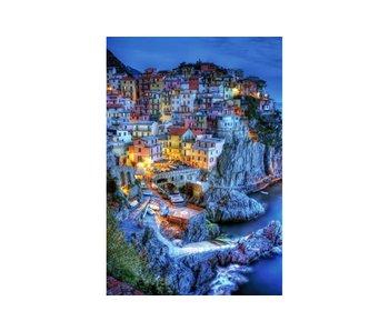 Dia paint WD2389 - Old Town 68x100 cm