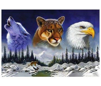 Dia paint WD2412 - American Wildlife 70x48cm