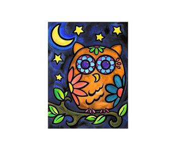 Dia paint WD2365- Night Idker 15x20 cm
