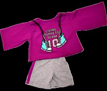 Living Puppets Vêtements de sport - poupée de 45 cm