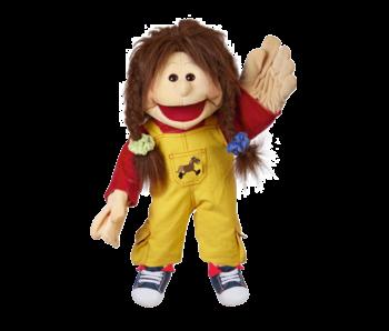 Living Puppets Marionnette à main Zwilling Lou 65 cm