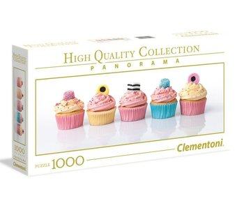 Puzzel HQC Panorama zoete Cupcakes - 1000 stukjes