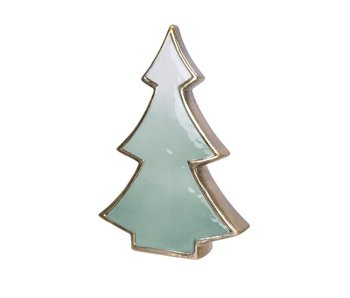 Kerstboom 16.5cm - porselein
