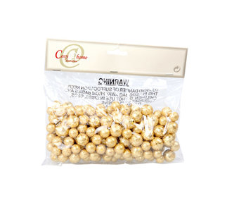 Sneeuwballen 20gr goud glitter