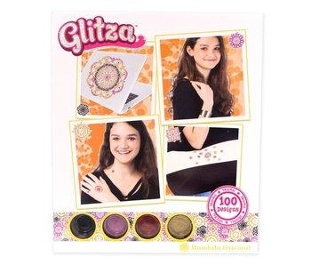 Glitza - Oosterse mandala - 100 ontwerpen