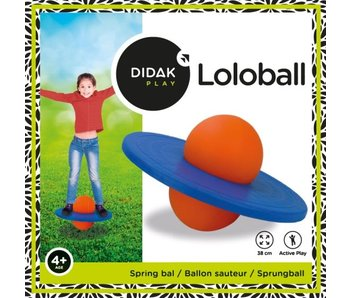 Didak Play Lolobal 38cm - balle sautante avec pneu plein
