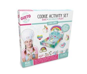 Gusto - Ensemble d'activités biscuits de Licorne