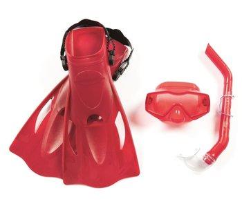Essential Meridian - set van 1 snorkel & 1 paar zwemvliezen