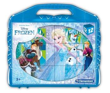 Frozen Blokken puzzel Frozen - 12 blokken