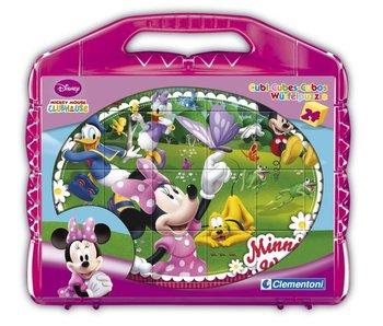 Blokken puzzel Minnie - 24 blokken