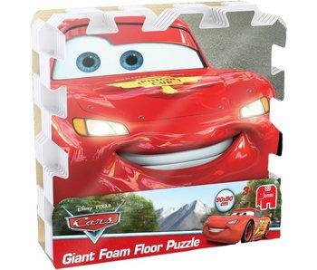 CARS foam vloerpuzzel 9 tegels (90x90cm)
