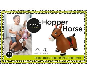 Hopper Paard 57x23x47 cm