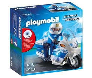 Playmobil Politiemotor met LED licht 6923
