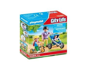 Playmobil Mama met kinderen 70284