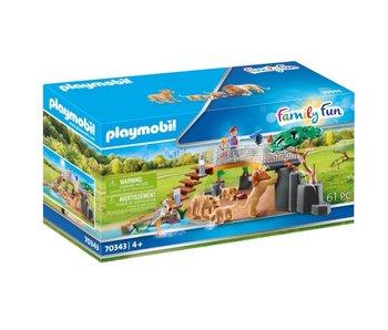 Playmobil 70343 Lions dans la maison de campagne