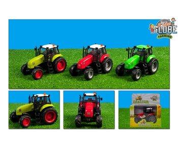 Tractor 3Asst - 11 cm - Licht + geluid - 1 stuk