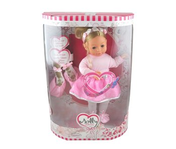 Pop Molly ballerina + piano liedjes 40 cm
