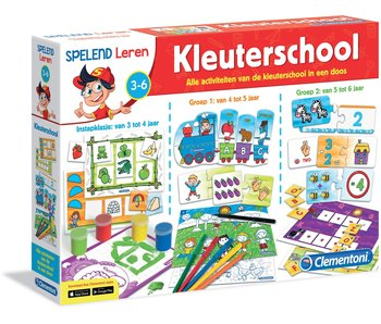 NL - Kleuterschool - Spelend leren