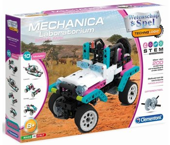 Mechanica Laboratorium - Roze Jeep Safari 8+