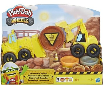Play-Doh - Pelleteuse et Bulldozer