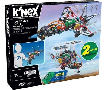 K'Nex Building Sets - Turbo Jet 2-In-1