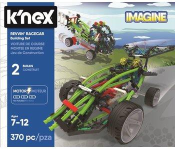K'NEX BUILDING SETS - REVVIN' RACECAR 2-IN-1