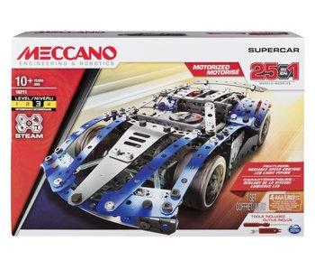 Meccano 25 - Ensemble de modèle Super Car
