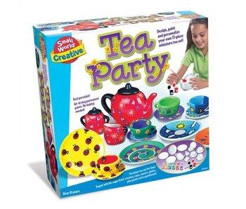 Tea Party - Peindre un set de thé
