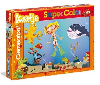 Puzzle Kaatje 2x20 pièces