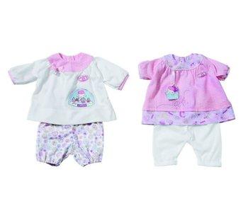 Vêtements de poupée BABY ANNA 46cm - 2 Ass - 1 set