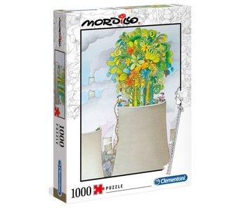 Puzzel Mordillo - De oplossing - 1000 stukjes