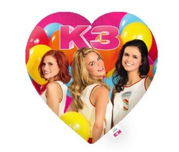 K3 Kussen Hart