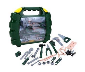 Grande valise avec outils 3+