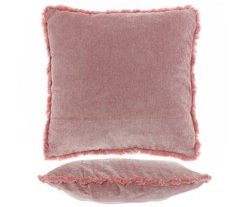 Kussen Mimmie 45x45 cm old pink