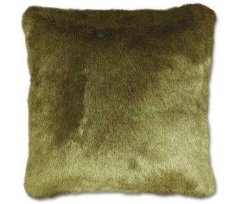 Kussen Indy 45x45 cm oil green