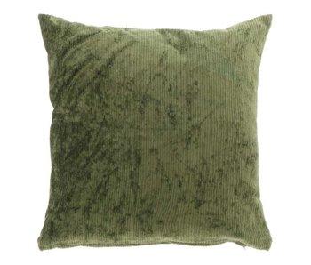 Kussen Luca 45x45 cm oil green