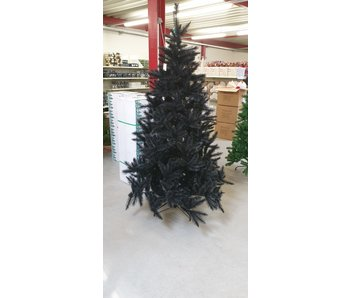 Kunstkerstboom Bristlecone zwart 215 cm