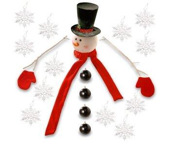 Kit Sneeuwman voor kerstboom 21 pcs