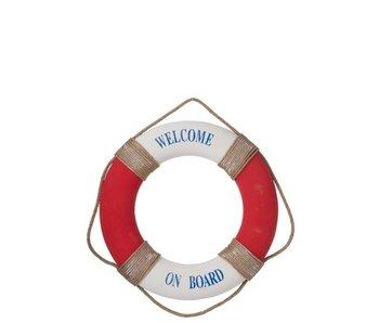 J-Line Reddingsboei Polyester Rood/Wit