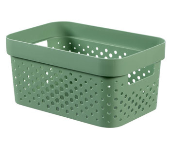 Infinity box 4.5 l dots groen 26x17.5xH12.3