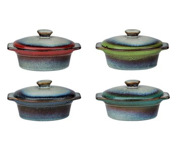 Jamiro mix ovenpotje ovaal 4 ass 13x9.5xH505 cm