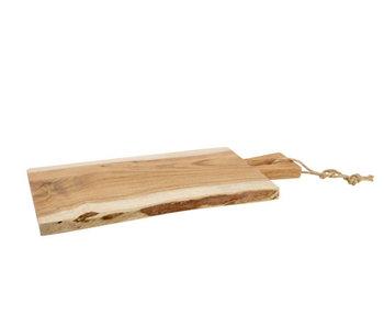 Serveerplank 35x19xH1.5 cm acacia