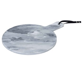 Serveerplank marmer 28x35xH1 cm