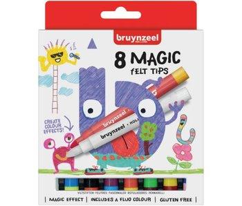Marqueurs magiques pour enfants - lot de 8 pièces